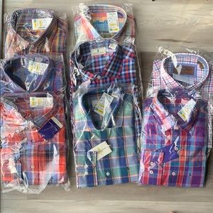 PACK OF 8 MENS BUTTON DOWN SHIRTS